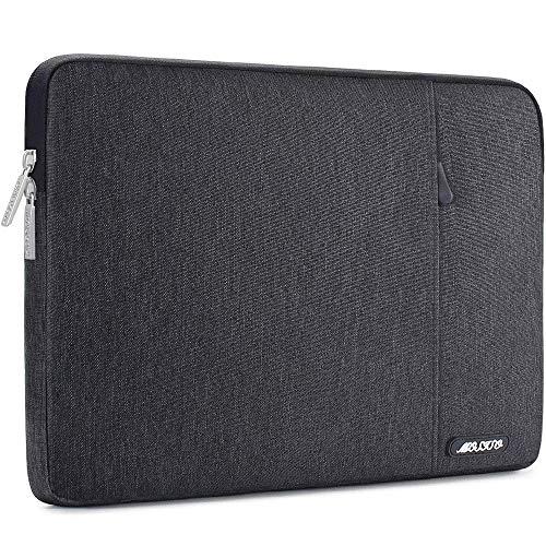 MOSISO Tablet Hülle Kompatibel mit 9,7-11 Zoll iPad Pro, iPad 7 10,2 2019, iPad Air 3 10,5, iPad Pro 10,5, Surface Go 2018, iPad 3/4/5/6 Wasserabweisend Polyester Vertikale Tasche, Space Grau