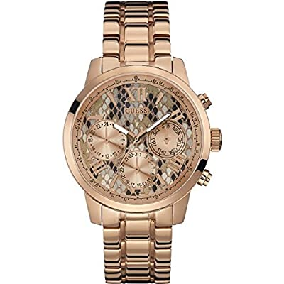 Guess W0330L16 - Reloj de pulsera para mujer, color blanco / plata