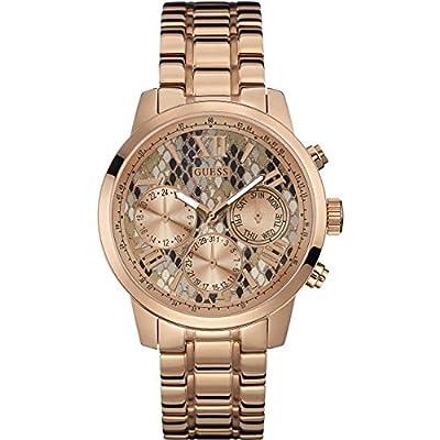 Guess W0330L16 - Reloj de pulsera para mujer, color blanco / plata de Guess