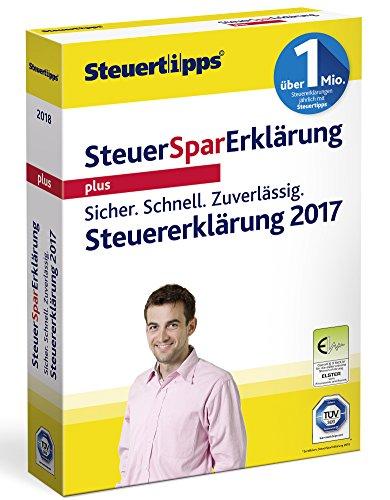 Akademische Steuer Spar Erklärung Plus 2018 für Steuerjahr 2017