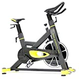 FitBike Indoor Cycle Race Magnetic Pro - 22 kg Schwungrad - Poly V-Riemen und...