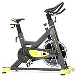 FitBike Indoor Cycle Race Magnetic Pro - 22 kg Schwungrad - Poly V-Riemen und Magnetisches Widerstandssystem - Mit SPD pedale - Spinning Fahrrad