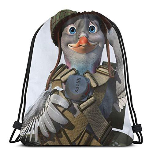 Cap pillow Bird Flying Photography Custom Drawstring Shoulder Bags Gym Bag Travel Backpack Lightweight Gym for Man Women 16.9