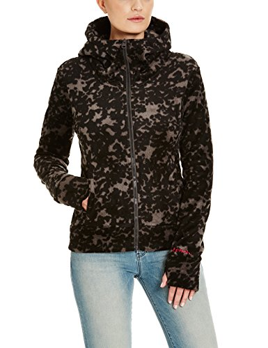 Bench Damen Strickjacke Directory, Schwarz (Black BK014), X-Small
