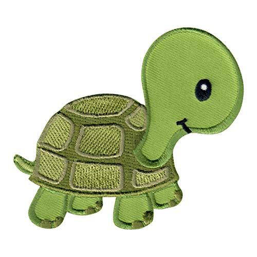 PatchMommy Tortuga Parche Termoadhesivo - Apliques Bordados para Niños