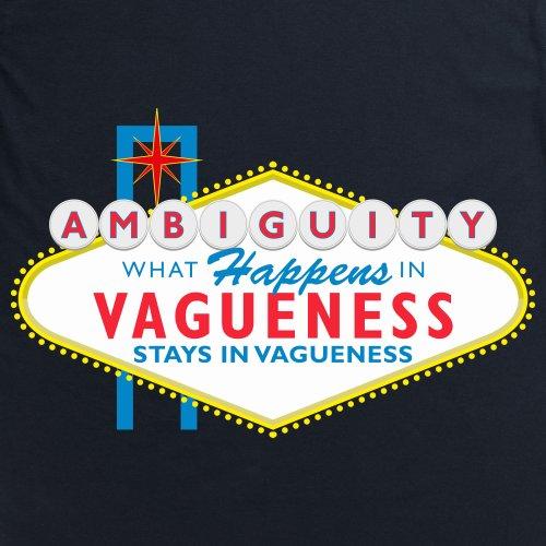 Vagueness T-Shirt, Herren Schwarz