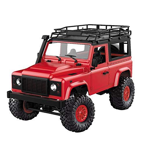 Winkey D91k 1/12 2,4 G Offroad-Fahrzeug Militär Truck Buggy Spielzeug DIY Kit für Erwachsene und Jungen Red ()