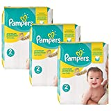 Couches Pampers - Taille 2 new baby premium protection - 341 couches bébé
