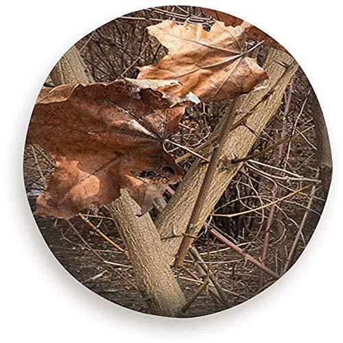 Olive Croft 15inch Foglie Autunnali su Bush Parchi di Caccia Ideali per Mimetizzazione Ruota di scorta per Ruota Esterna Copertura Antipolvere Impermeab