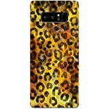 Samsung Note 8 Cases And Covers Leopard Print Animal Print Pattern Designer Printed Hard Shell Case