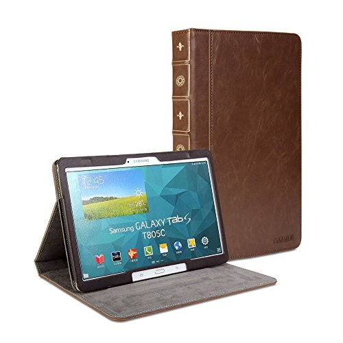Gmyle Book Case Vintage for Samsung Galaxy Tab S 10.5 - Crazy Horse Pattern  available at amazon for Rs.2099