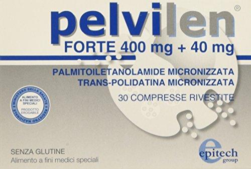Epitech Group Pelvilen Forte Integratore per Rinforzare l'Area Pelvica - 30 Compresse