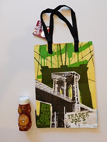 trader-joes-clover-blossom-honey-12-oz-and-ny-style-reusable-shopping-bag-by-bunch-of-chazari-no-aff