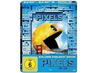 Pixels (2015) 3D - Limited Edition Lenticular Steelbook (Blu-ray 3D + Blu-ray) Blu-ray