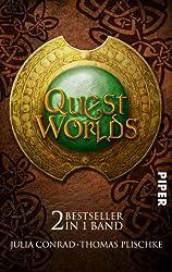 Quest Worlds: Die Drachen • Die Zwerge von Amboss: Zwei Bestseller in einem Band