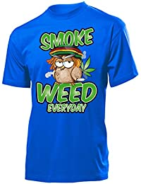 Drogen - SMOKE WEED EVERYDAY - Cooles Fun T-Shirt Homme Small - XX-Large - Deluxe