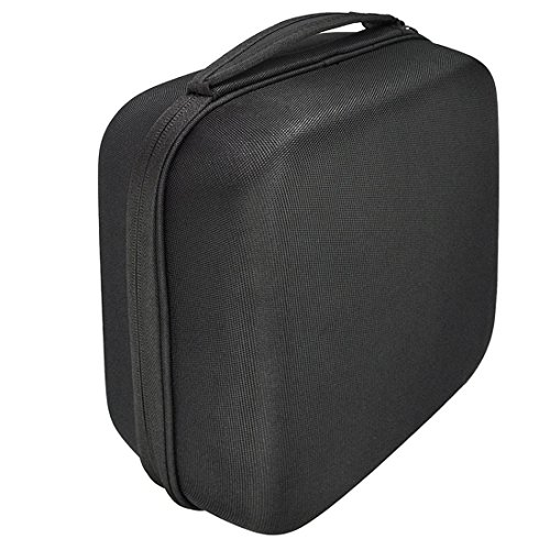 Headphones Case for Beyerdynamic DT660, DT770, DT990 DT880, AKG, Sennheiser, Full Size Hard Shell Large Carrying Case/Headset Travel Bag with Space for Cable, AMP, iPod, Parts and Accessories