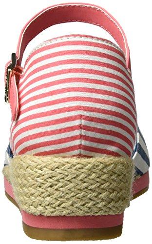Tommy Hilfiger K3285ristin 5c2, Sandales  Bout ouvert fille Multicolore (Jeans)