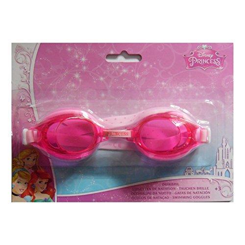 Occhiali da piscina/nuoto/immersione per bambina - motivo: principessa disney