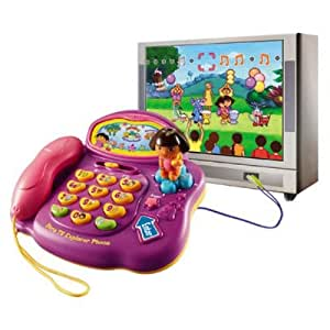 Vtech - 71705 - Jeu Educatif - Dora - Mon Vidéophone Interactif