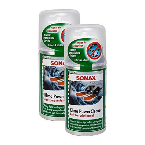 2x-sonax-03231000-klimapowercleaner-klimaanlage-reiniger-antibakteriell-150ml