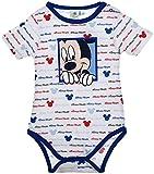Disney Baby Micky Maus Baby Body Kurzarm
