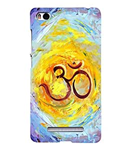 FUSON Om Colorful Painting 3D Hard Polycarbonate Designer Back Case Cover for Xiaomi Mi 4i :: Xiaomi Redmi Mi 4i