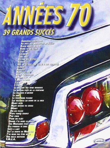 Annees 70 par Divers Auteurs
