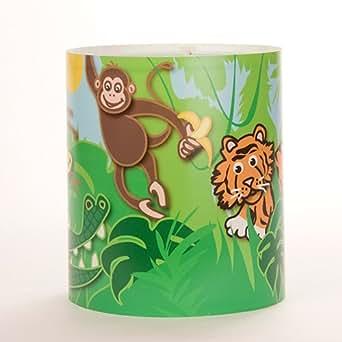 Abat-jour jungle pour enfant