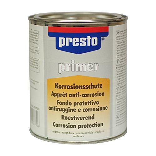Preisvergleich Produktbild PRESTO PRIMER Rost und Korrosionsschutz rotbraun 750ml 387306