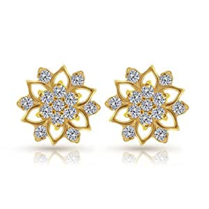 Joyalukkas Impress Collection 22k Yellow Gold stud Earrings