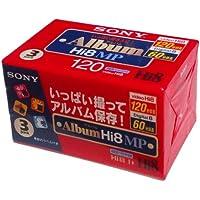 Sony 8mm 120minutos de casete 3unidades
