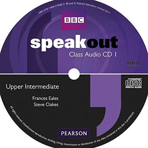 Speakout Upper Intermediate Class CD (X2)