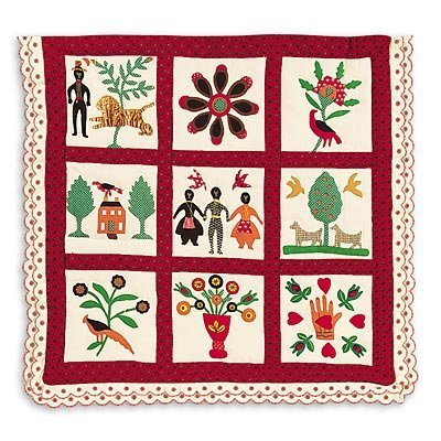 American Girl Addy 's Family Album Quilt
