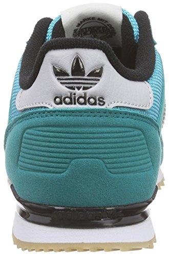 adidas Originals Unisex-Kinder Zx 700 Low-Top Grün (Eqt Green S16/Lgh Solid Grey/Ftwr White)