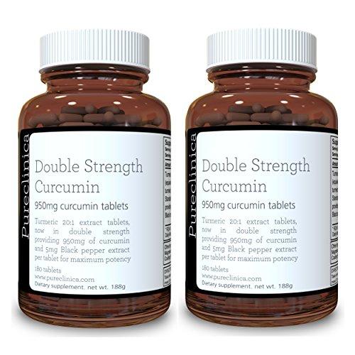Double Strength Curcumina Estratto 1000mg x 360 -...
