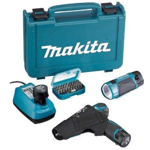 Preisvergleich Produktbild MAKITA Akku-Schrauber 10.8V DF330DWLEX + GRATIS:BITBOX