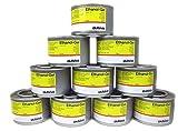 Airbrush-City 10 Dosen 230ml Brennpaste für Chafing Dish geruchsneutral Ethanol