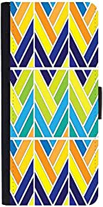 Snoogg Mult Pattern Window 2572 Designer Protective Phone Flip Case Cover For Apple Iphone 6S
