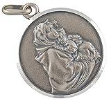 AFP Anhänger Madonna Heilige Maria mit Jesuskind 925 Sterling Silber AS-534