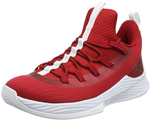 Nike Herren Jordan Ultra Fly 2 Low Basketballschuhe, Rot (Gym Redblackwhite 601), 42 EU