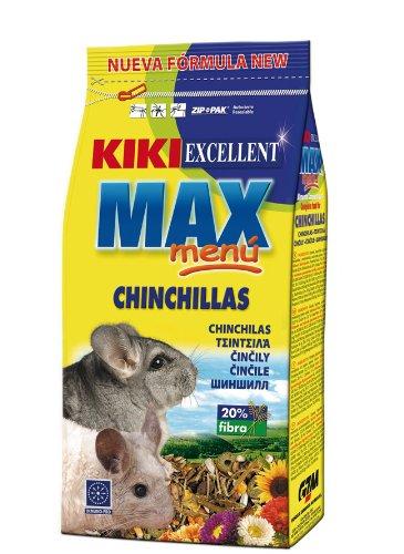 KIKI MAX MENU Nourriture complète pour Chinchillas 800g