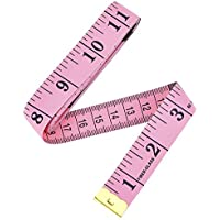 150cm, 60 Pulgada Cinta Métrica Suave Regla de Cinta para Costura Costurera del Sastre de Tela Regla, Rosado