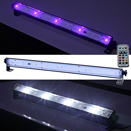 E-Lektron LUS-1 LED UV-Bar Strobe-Leiste Blacklight-Leiste Stroboskop Disco Licht-Effekt Schwarzlicht Bühnenlicht