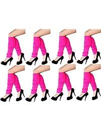krautwear - Calentadores - Básico - para mujer 8xPink Talla única