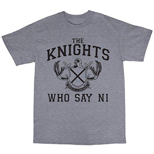 Knights That Say Ni T-Shirt 100% Baumwolle Grau