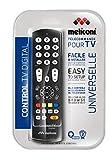 Meliconi Control TV Digital Telecomando Universale per TiVu, Nero