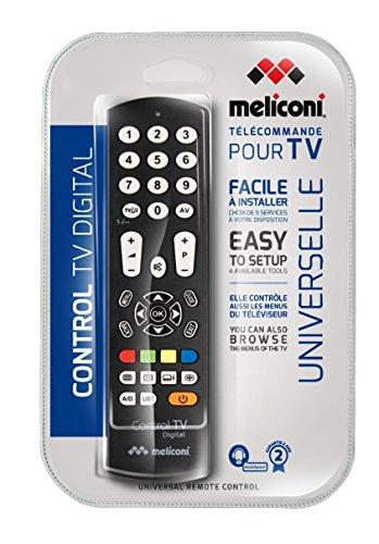 Meliconi-CONTROL-TV-DIGITAL-Telecomando-di-Ricambio-Universale-per-TV-Compatibile-con-Tutte-le-Principali-Marche-e-Modelli-Facile-da-Programmare