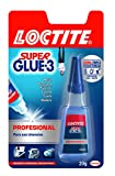 Loctite Super Glue-3 profesional, adhesivo universal instantáneo, 20gr