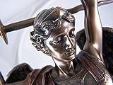San Michele Arcangelo bronzo statua da collezione